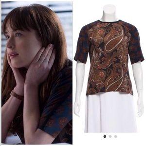 ASO Ana Steele ALC Racci silk blouse